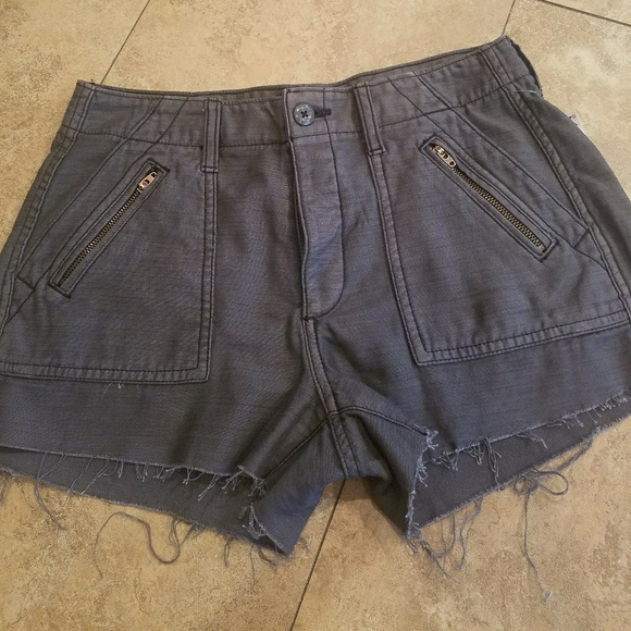 American Eagle Outfitters Pants - Women's AEO Denim Cut off Shorts Size 4